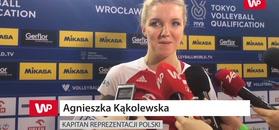 Tokio 2020 turniej kwalifikacyjny. Optymistyczne słowa Kąkolewskiej.
