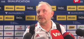 Tokio 2020 turniej kwalifikacyjny. Jacek Nawrocki: Z Serbkami musimy zagrać na dużym ryzyku i z otwartą przyłbicą