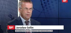 Jarosław Sellin się zdenerwował. Przez Owsiaka