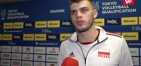 Bartosz Kwolek o meczu z Francją.