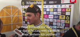 Tour de Pologne 2019. Paweł Siwakow: Kiedy rozpoczynałem wyścig, nie myślałem o triumfie