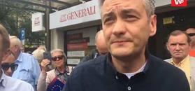 Robert Biedroń: Będę na każdym Marszu Równości, gdy będą leciały kamienie