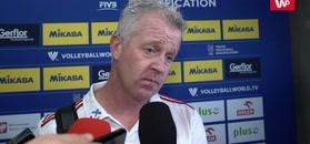 Vital Heynen skomentował wygraną z Francją.