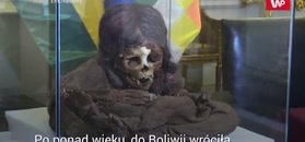 Mumia wróciła do domu. Po ponad wieku w USA