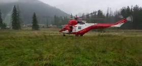 Akcja ratunkowa po burzy w Tatrach